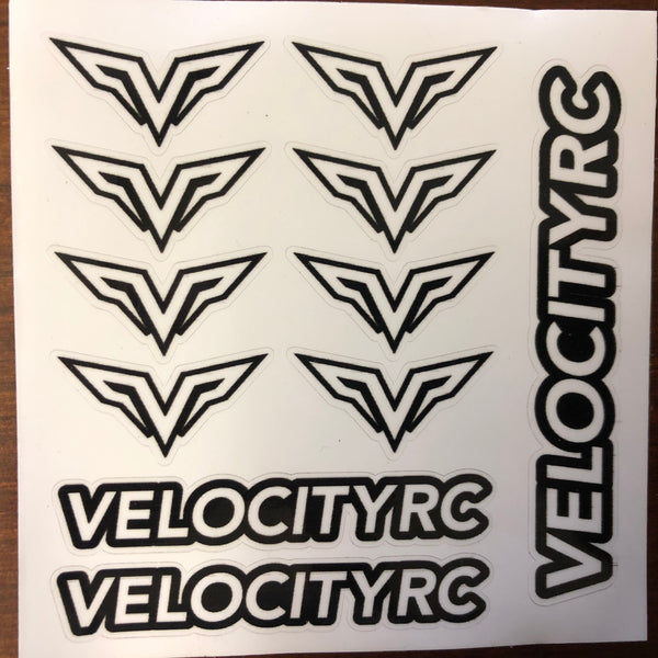 Velocity Decal Sheet