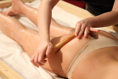 VIDEO tutorial WOODEN STICK massage