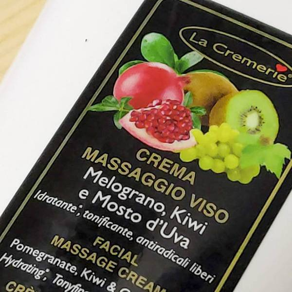 Pomegranate, Kiwi & Grape Must Facial Cream 200ml