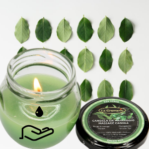 Body butter candle green tea 50ml