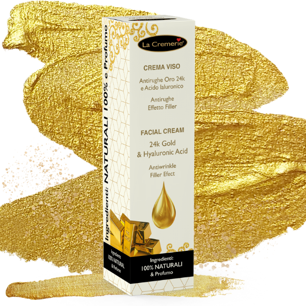 Facial Cream 24k Gold & Hyaluronic acid 50ml