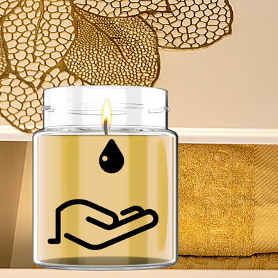 Gold, incense & Myrrh Massage Candle 200ml