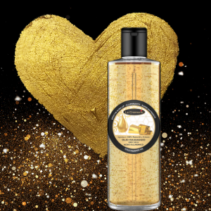 Gold shimmer body oil lifting effect 200 ml