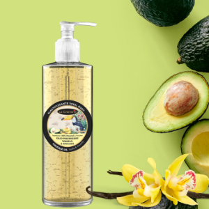 Vanilla & avocado massage oil 500ml