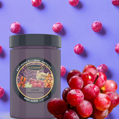 Grape must body scrub 300gr