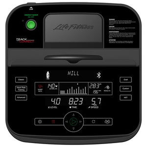 Life Fitness - E5 Elliptical Cross-Trainer with track connect console