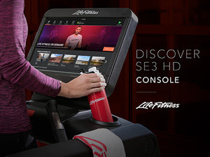 Life Fitness Elevation with Discover SE3HD Treadmill