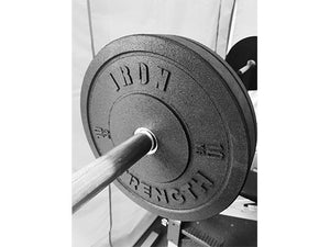 Iron Strength 100kg Hi-Temp Bumper Set