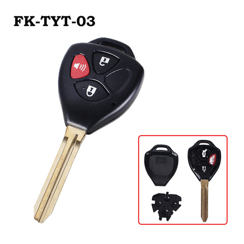 Toyota Rav4/Scion/Yaris Replacement Remote Key Shell