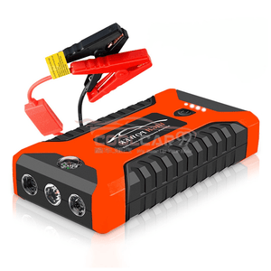 12V Automobile Emergency Power Supply Engine Starter with LED Lighting & Air Pump