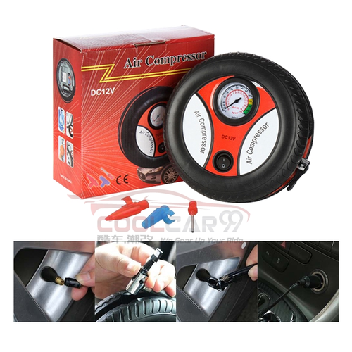 260PSI Auto Car Electric Tire Inflator Pump Portable Air Pressure Compressor 12V