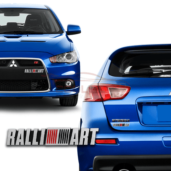 3D Car Badge & Logo Mitsubishi Ralliart 3D Car Badge Emblem Logo
