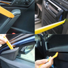 4pcs ABS Door Clip Panel Trim Door Trim Dashboard Trim Auto Radio Removal Pry Tools Set Car Panel Removal Tool