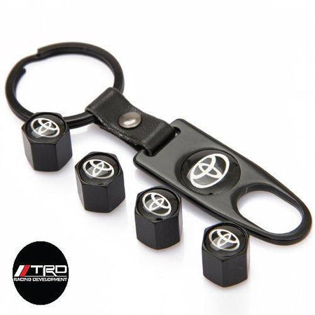 Air Cap TOYOTA AIR CAP 4Pcs / Set Styling TOYOTA Car Wheel Tire Tyre Valve Stem Air Caps Car Cover