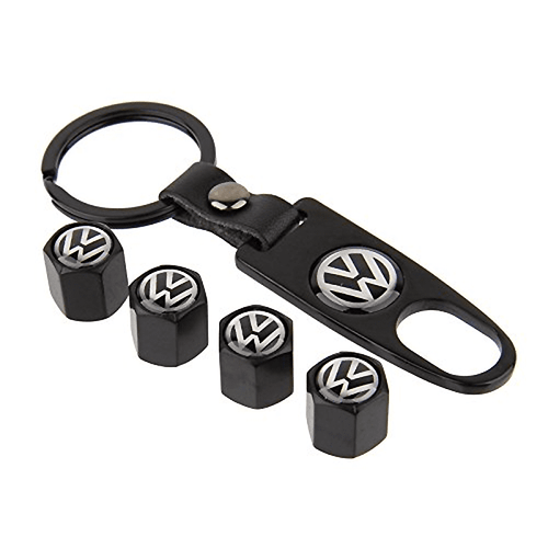 Air Cap 4Pcs / Set Styling VOLKSWAGEN Car Wheel Tire Tyre Valve Stem Air Caps Car Cover