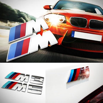 BMW Sport Car M Badge 3D Logo CB-01-BMW-M1 BMW Sport Car M Badge 3D Logo