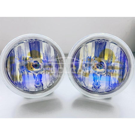 Yellow Car Proton Wira XD3002 High-Quality Halogen Round Driving Spot Light H3 12V