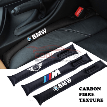 Car Seat Organizer BMW BMW MINI Carbon Fiber Car Seat Gap Leak-Proof Plug 1pcs