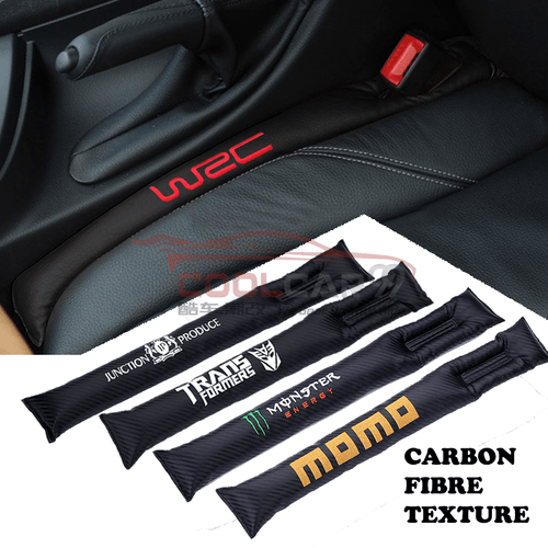 Car Seat Organizer Toyota Carbon Fiber Car Seat Gap Leak-Proof Plug 1pcs