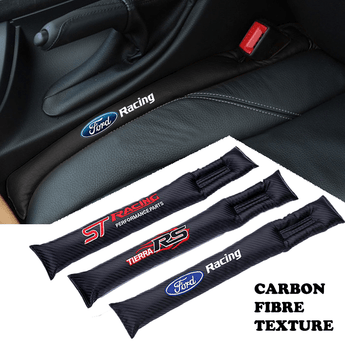 Ford Carbon Fiber Car Seat Gap Leak-Proof Plug 2PCs