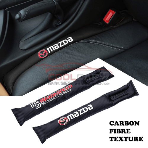 Car Seat Organizer Mazda Mazda Carbon Fiber Car Seat Gap Leak-Proof Plug 1pcs