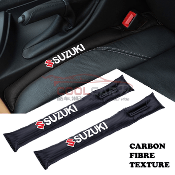 Car Seat Organizer Suzuki Suzuki Carbon Fiber Car Seat Gap Leak-Proof Plug 1pcs