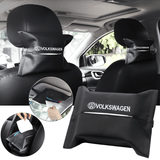 Car Seat Organizer VOLKSWAGEN Carbon Fiber Leather Car Tissue Box Cover