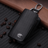KIA Carbon Fiber KIA Key Pouch Car Key Wallet Holder