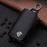 Mercedes Benz Carbon Fiber NISSAN Key Pouch Car Key Wallet Holder