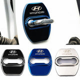 DOOR LOCK COVER BLACK HYUNDAI Stainless Steel Door Lock Cover Case
