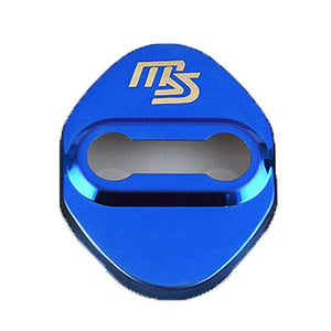 DOOR LOCK COVER BLUE SPEED 01 MAZDA / MAZDA SPEED Stainless Steel Door Lock Cover Case
