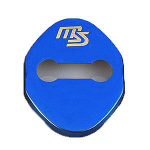 DOOR LOCK COVER BLUE SPEED 02 MAZDA / MAZDA SPEED Stainless Steel Door Lock Cover Case