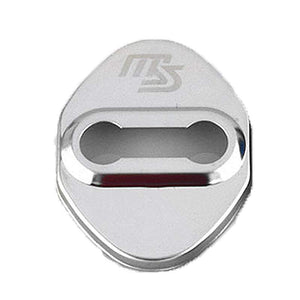 DOOR LOCK COVER SILVER SPEED 01 MAZDA / MAZDA SPEED Stainless Steel Door Lock Cover Case