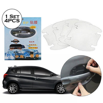 Door Protectors 4 Pcs / Set Door Car Handle Protection Film Car Exterior Transparent Sticker