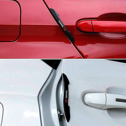 4Pcs/Set PEUGEOT Car Door Anti-Collision Strip Guards Doors Side Protector