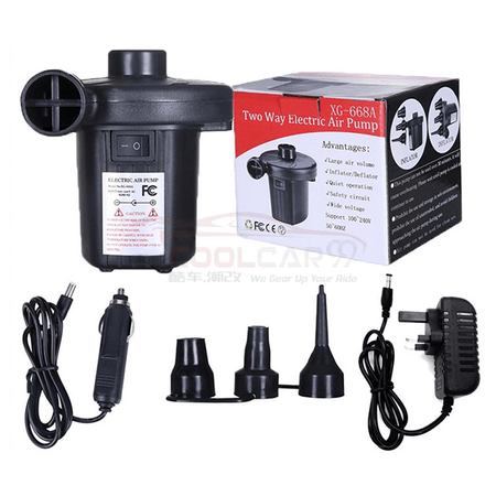 Electric Air Pump Inflator Deflator Inflatable Air Bed Swimming Pool XG-668A Pam Angin