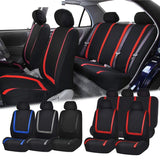 Flat Cloth Fabric Front Rear Car Seat Cover
