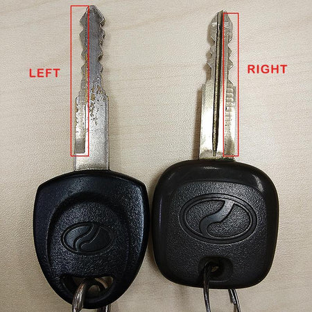 Flip Key FLIP KEY (RIGHT) Perodua Myvi/Kancil/Kelisa/Kenari Flip Key Case Modify Foldable Keyblade