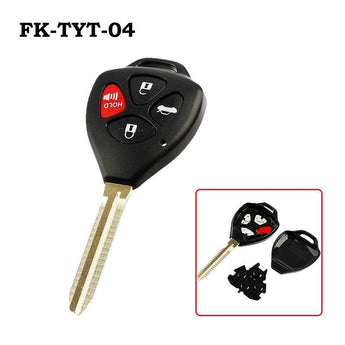 Flip Key Toyota Camry/Corolla Replacement Remote Key Shell