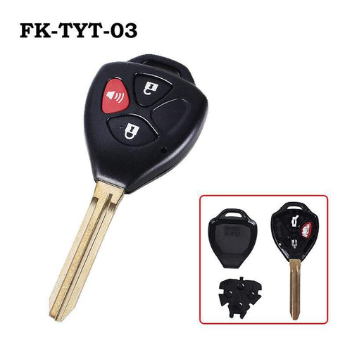 Flip Key Toyota Rav4/Scion/Yaris Replacement Remote Key Shell