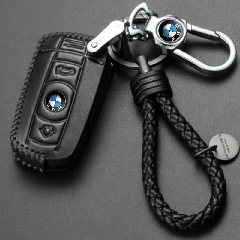 Genuine Leather Key Cover 03 BLACK BMW Genuine Leather Key Cover