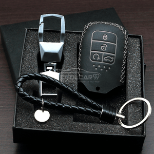 Genuine Leather Key Cover WHITE Honda Civic Genuine Leather Key Cover