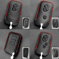 Genuine Leather Key Cover LX-01-BB Lexus Smart Key Genuine Leather Key Cover