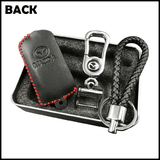Genuine Leather Key Cover 01 BLACK Mazda Genuine Leather Key Cover