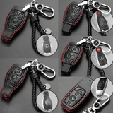 Genuine Leather Key Cover MB-01-BB Mercedes-Benz Smart Key Genuine Leather Key Cover