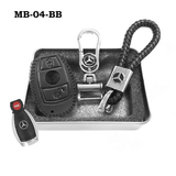 Genuine Leather Key Cover MB-04-BB Mercedes-Benz Smart Key Genuine Leather Key Cover