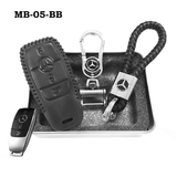 Genuine Leather Key Cover MB-05-BB Mercedes-Benz Smart Key Genuine Leather Key Cover