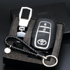 Genuine Leather Key Cover WHITE Toyota Genuine Leather Car Key Cover