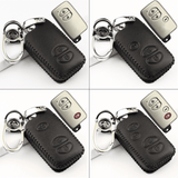 Genuine Leather Key Cover TYT-04-BB Toyota Smart Key Genuine Leather Key Cover Fit for Prius