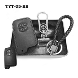 Genuine Leather Key Cover TYT-05-BB Toyota Smart Key Genuine Leather Key Cover Fit for Prius